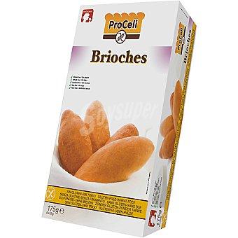 Proceli brioches sin gluten bandeja 175 g