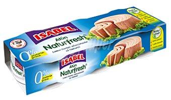 Isabel Atún Naturfresh al natural 3 latas de 52 g