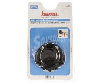 HAMA Parasol + tapa Para lentes de 52MM 1 unidad