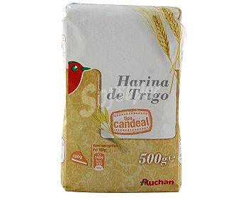 Auchan Harina de trigo tipo candeal 500 gramos