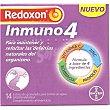 Redoxon Inmuno4 para mantener y reforzar las defensas naturales del organismo caja 14 sobres de granulado para tomar sin agua sabor naranja  Bayer
