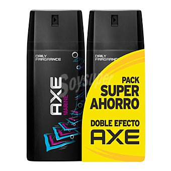 Axe Desodorante Marine spray Pack 2x150 ml