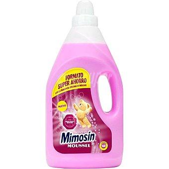MIMOSIN Suavizante concentrado con la fragancia original de Moussel formato ahorro botella 160 dosis