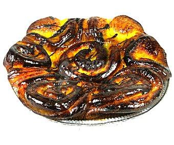 Bolleria Brioche de crema y chocolate (masa de bollería con relleno de crema y pepitas de pasta de cacao) 500 gramos