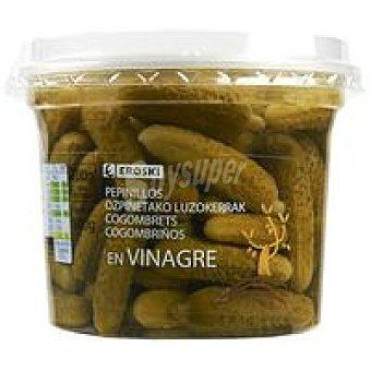Eroski Pepinillos en vinagre Tarrina 300 g