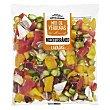 Verduras mediterraneo mix (pimiento rojo, amarillo, esparragos verdes y cebolla morada) Bolsa 300 g Verdifresh