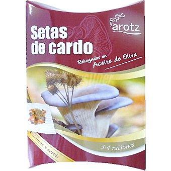 Arotz Setas de cardo rehogados en aceite de oliva calentar y servir Estuche 200 g