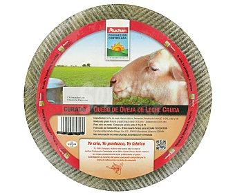 Auchan Producción Controlada Queso Oveja Curado L. Cruda 3kg