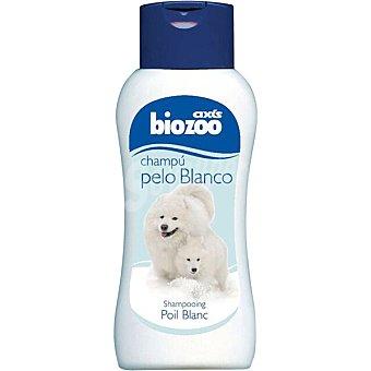 BIOZOO AXIS Champu para perros especial para pelo blanco Envase 250 ml