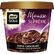 Mousse triple chocolate tarrina 170 g Gold Nestlé