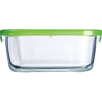 LUMINARC Keepn Box hermetico cuadrado con tapa 13 x 6 cm