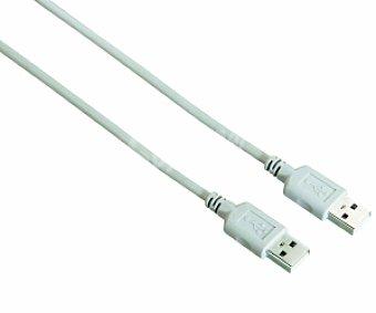 Auchan Cable USB A-A Gris 1,8 Metros