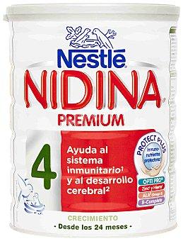 Nidina Nestlé Leche 4 Premium a partir de 24 meses Nestlé Bote 800 g