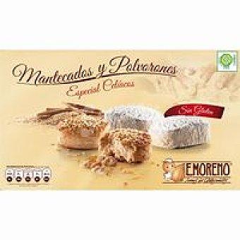 E.moreno Mantecados-polvor. de almendra sin glutén Caja 450 g