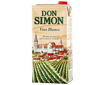DON SIMON Vino blanco Envase de 1 l