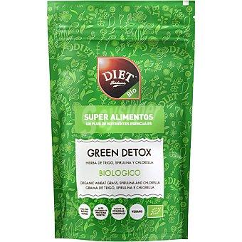 Diet Rádisson Green Detox hierba de trigo espirulina y chlorella biológica  envase 100 g