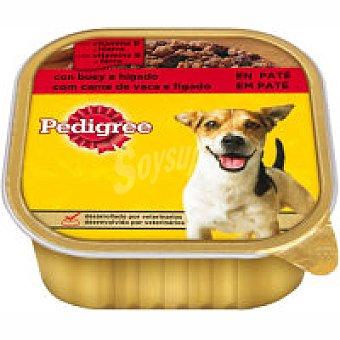 Pedigree Alimento con buey-hígado Tarrina 300 g