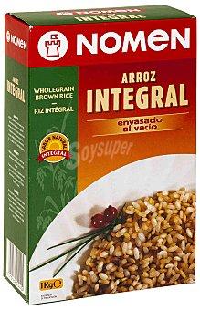 Nomen Arroz integral envasado al vacío 1kg