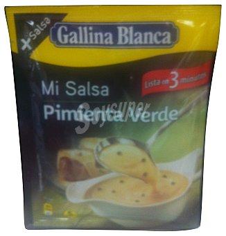 Gallina Blanca Salsa pimienta verde Sobre 55 g