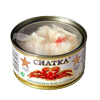 Chatka Cangrejo real ruso al natural 100% patas Lata 90 g neto escurrido