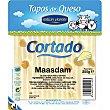 Tapas de queso maasdam cortado envase 250 g Millan Vicente