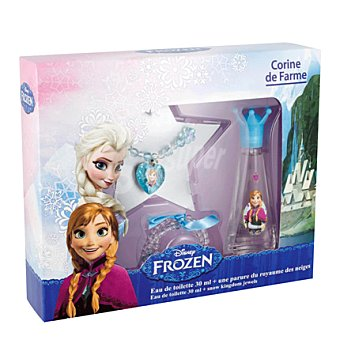 Disney Frozen Estuche colonia 30 ml. + pulsera + collar 1 ud