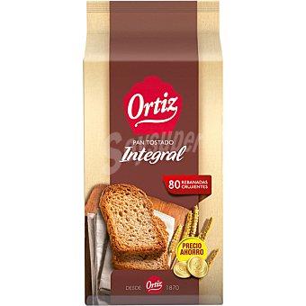 Ortiz pan integral tostado a fuego lento 80 rebanadas Paquete 720 g