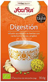 Yogi Tea Infusión Digestion Yogi Tea 17 sobres