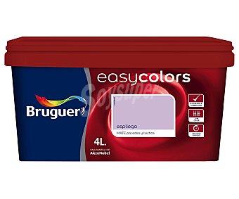 Bruguer Pintura plástica acrílica decorativa, de color violeta espliego y con acabado mate, de la serie Easy Colors 2,5 litros