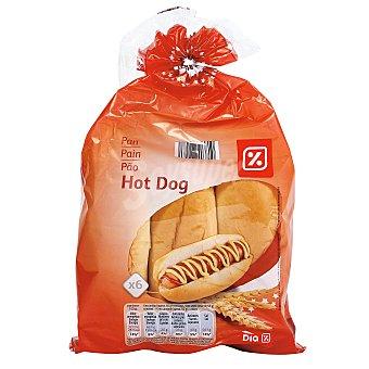 DIA Panecillos para perritos bolsa 330 gr 6 unidades
