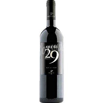 QUOTA 29 Vino tinto de Italia Botella 75 cl