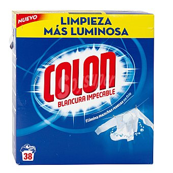 Colón Detergente máquina polvo maleta 30 + 8 cacitos 30 + 8 cacitos