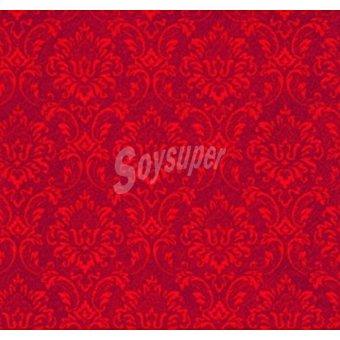 PAP STAR servilletas Ornament color rojo3 capas 33x33 cm  paquete 20 unidades