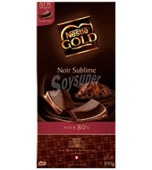 Gold Nestlé Chocolate negro sublime 80% cacao 100 g