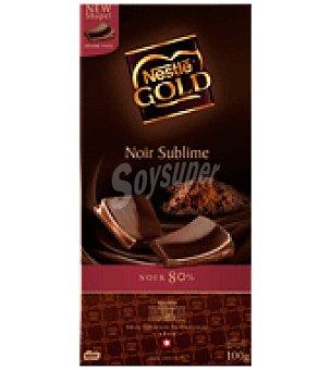Nestlé Gold Chocolate negro sublime 80% cacao 100 g