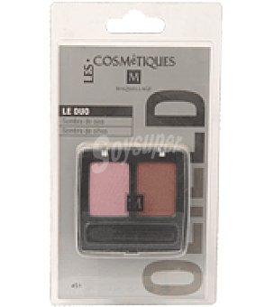 Les Cosmetiques Sombras de ojos duo nº451 1 ud