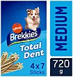 Total dent stick para perro para prevenir el mal aliento y sarro razas medianas y grandes Caja 720 g Brekkies Affinity