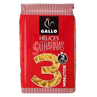Gallo Hélices extrafinas 3 min (pasta alimenticia de sémola de trigo duro) 400 g