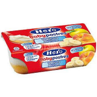 Hero Postre de yogur multifruta Pack 2x130 g
