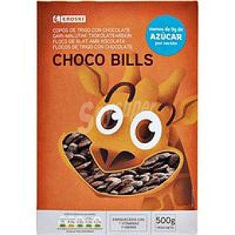 Eroski Choco Bills de trigo Caja 500 g