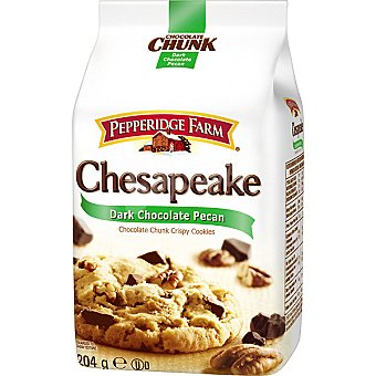 PEPPERIDGE FARM Chesapeake Chocolate Chunk Galletas con pepitas de chocolate y nueces pecanas Paquete 206 g