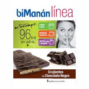 Bimanan Linea Galleta de chocolate negro Caja 160 g