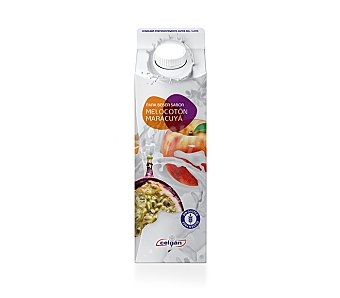 Celgán Yogur líquido de melocotón y maracuyá 500 g