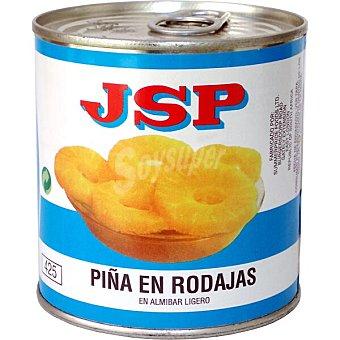 Jsp piña en rodajas en almíbar  lata 420 g