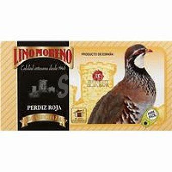Lino Moreno Perdiz roja en salsa Frasco 600 g