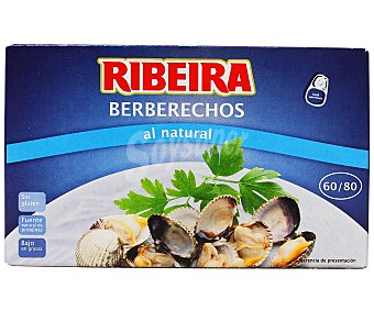 Ribeira Berberechos 60/80 piezas Caja de 63 g