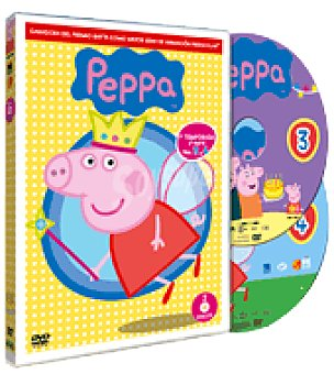 PEPPA PIG Vol 3+4 dvd