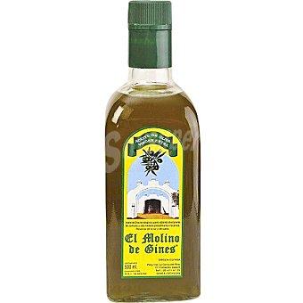 EL MOLINO DE GINES Aceite de oliva virgen extra Botella de 500 ml