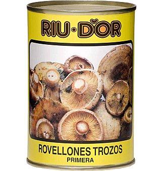 Riu D'Or Rovellones trozos Lata 400 grs