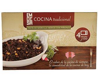 Emcesa Pasta de morcilla ibérica con piñones 200 gr